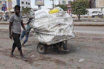 JEMEN-ADEN-ILLEGAL AFRICAN MIGRANTEN-DEPORTATION