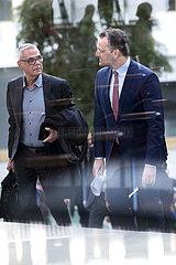 Jens Spahn  Prof. Uwe Janssens - PK Coronavirus