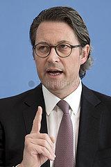 Andreas Scheuer - PK Coronavirus