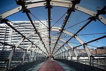 Deutschland  Bremerhaven - Wegen Corona kaum Betrieb am Columbus Shopping Center