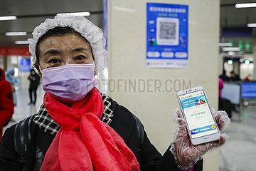CHINA-WUHAN-Metro-OPERATION RESTAURIERUNGS (CN)