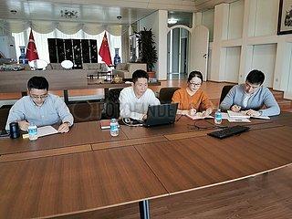 TÜRKEI-ISTANBUL-COVID-19-chinesischen Studenten
