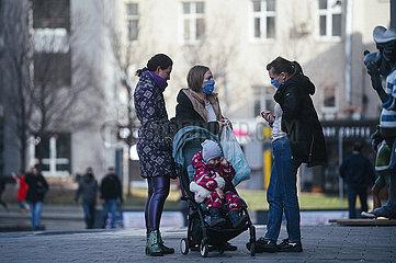 RUSSLAND-Moskau-COVID-19-FÄLLE