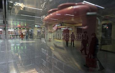 CHINA-HUBEI-WUHAN-U-Bahnstationen (CN)