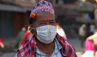 NEPAL-KATHMANDU-COVID-19-LOCKDOWN