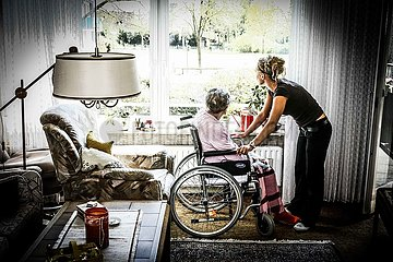 Symbolfoto Altenpflege