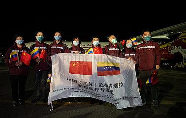 VENEZUELA-La Guaira-COVID-19-CHINA-ASSISTANCE