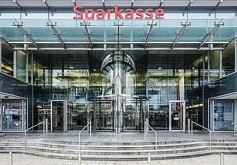 Sparkasse  Essen  Ruhrgebiet  Nordrhein-Westfalen  Deutschland