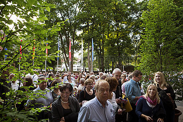 Bad Hersfelder Festspiele 2014 Theaterpublikum