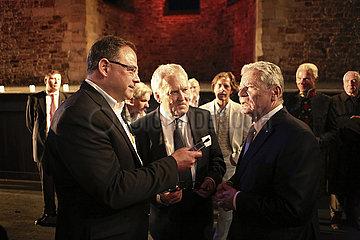 Bundespraesident Gauck besucht Bad Hersfelder Festspiele