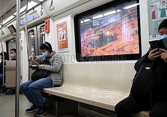 CHINA-BEIJING-SUBWAY-SMART SERVICE SYSTEM