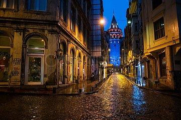 TÜRKEI-ISTANBUL-Welt-Autismus-Tag