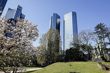 Deutsche Bank  Frankfurt am Main  Hessen  Deutschland