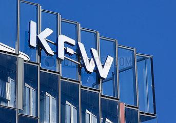 KFW Bank  Frankfurt am Main  Hessen  Deutschland
