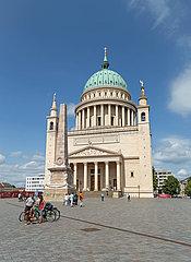 Potsdam  Brandenburg  Deutschland - St. Nikolaikirche am Alten Markt in Potsdam.
