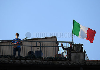 ITALIEN-ROM-COVID-19-FÄLLE