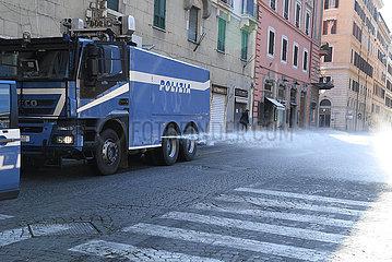 ITALIEN-ROM-COVID-19