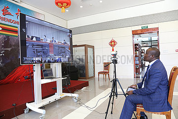 CHINA Beijing-COVID-19-ZEITPLAN-INT'L COOPERATION (CN)