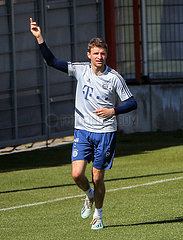 (SP)GERMANY-MUNICH-BAYERN MUNICH-COVID-19-TRAINING SESSION