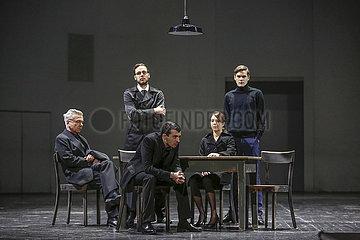 Deutsches Theater Berlin TOD EINES HANDLUNGSREISENDEN