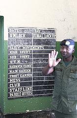 Gefaengnis in Lusaka