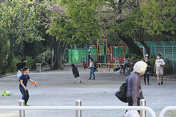 JAPAN-TOKYO-COVID-19-Notstand