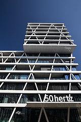 Berlin  Deutschland - Firmenzentrale von 50Hertz Transmission in Berlin-Mitte.