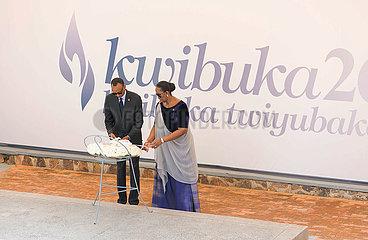 Rwanda-KIGALI-GENOCIDE-LOW KEY VERLEIHUNG