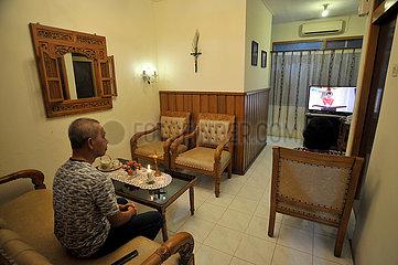 INDONESIEN-YOGYAKARTA-KARFREITAG-ONLINE-SERVICE-COVID-19
