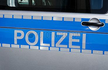 Polizei  Muenster  Nordrhein-Westfalen  Deutschland