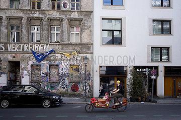 Hausbesetzung Linienstrasse Berlin-Mitte
