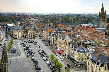 Weltkrieg Eindruck in Ypern und die Westhoek von Flandern