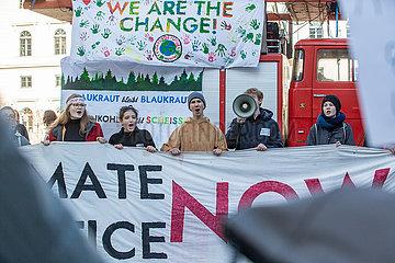 Climate Strike against Siemens