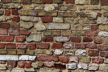 Neuenhagen  Deutschland  Ziegelsteinmauer