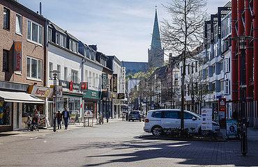 Hochstrasse  Heinsberg  Nordrhein-Westfalen  Deutschland