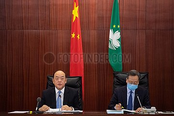 CHINA-MACAO-LEITER EXECUTIVE-POLICY ADDRESS (CN)
