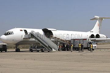 IRAK-BAGDAD-CHINA-medizinische Hilfe-COVID-19
