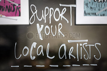 Support your local artists
