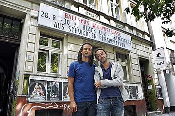 Carvalho  Wagner (Taenzer) und Kulaoglu  Tuncay (Filmemacher)