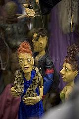 Puppenfundus  puppet storage
