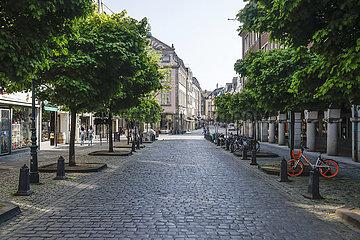 Altstadt  Duesseldorf  Nordrhein-Westfalen  Deutschland