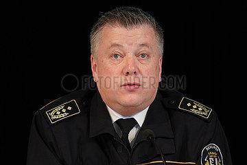 Landesbranddirektor Berlin  Dr. Karsten Homrighausen im Portrait