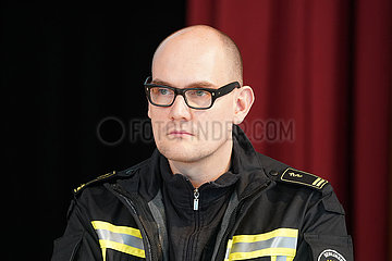 Dr. Janosch Dahmen Stab beim Berliner Rettungsdienst im Portrait