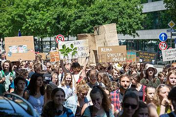 Fridays for Future mit Die In in München