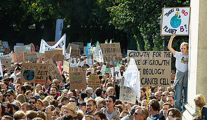 Global Strike for Climate in Munich