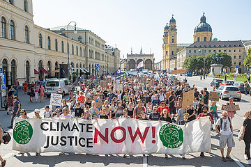Fridays for Future in the summer holiday
