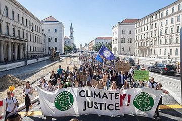 Klimastreik am ersten Freitag nach den Sommerferien