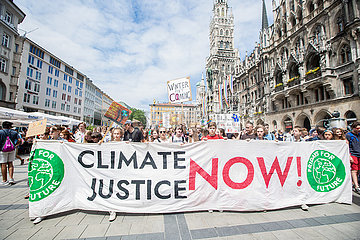 Record Heat: Fridays for Future in Munich