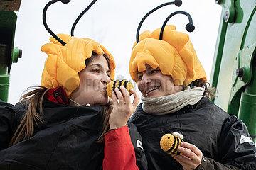 Rettet die Bienen Protest in München