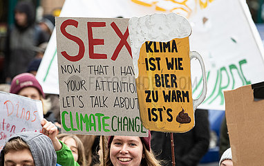 Global Climate Strike in Munich